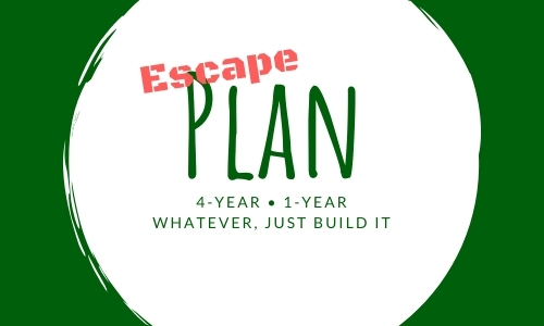 How to build a 4-year plan